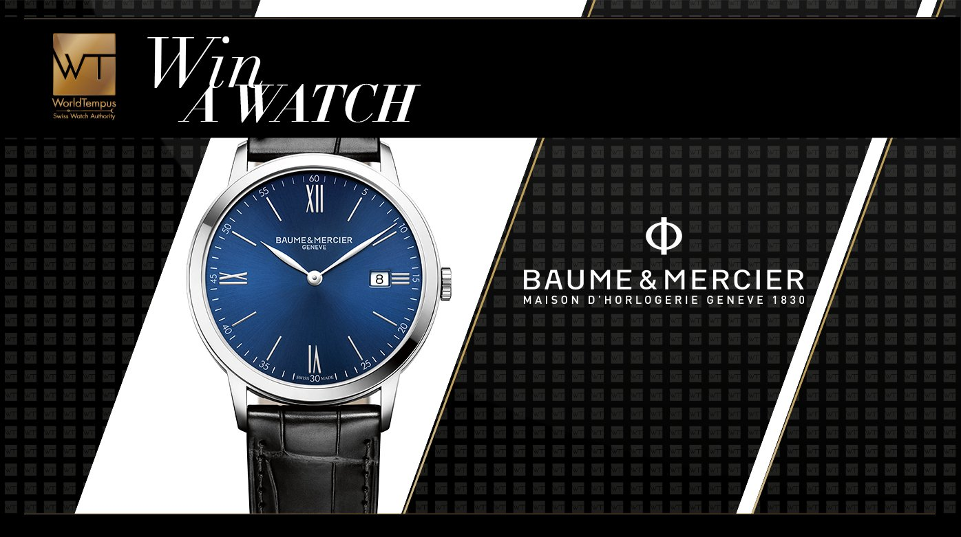 Baume & Mercier - A happy winner