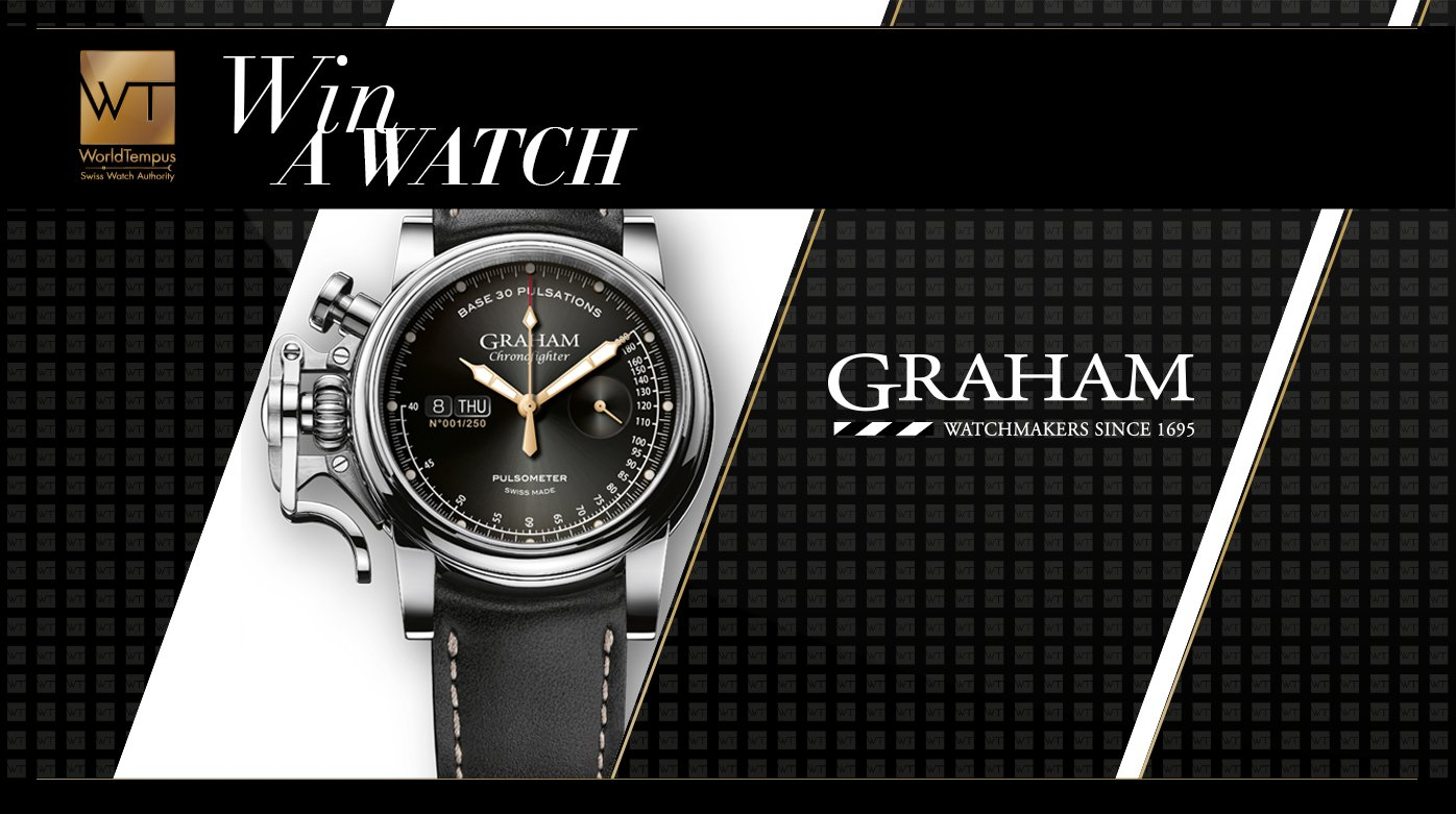 Graham - Win a Graham Chronofighter Vintage Pulsometer watch