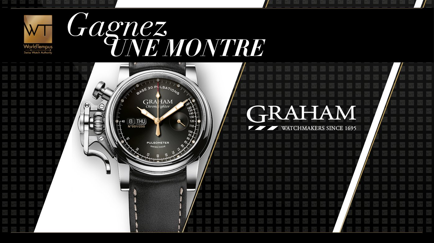 Graham - Gagnez une montre Graham Chronofighter Vintage Pulsomètre