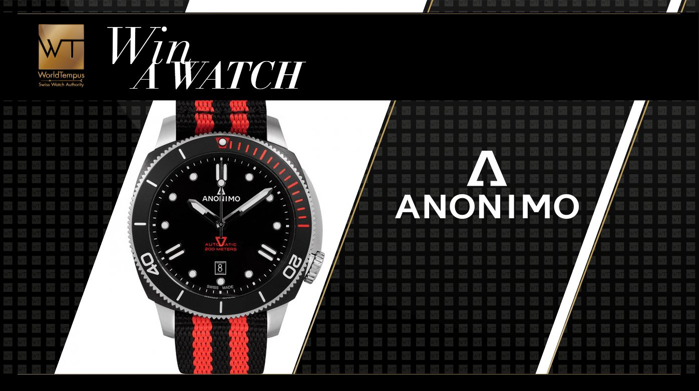 Anonimo - Win an Anonimo Auto-Sailing Limited Edition watch