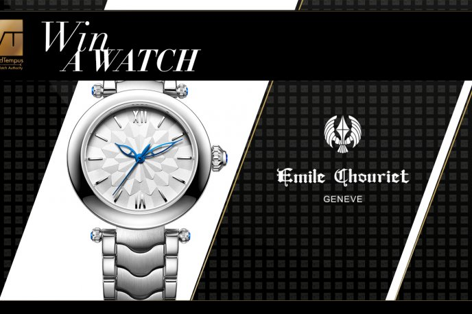 Win an Emile Chouriet  Fair Lady watch