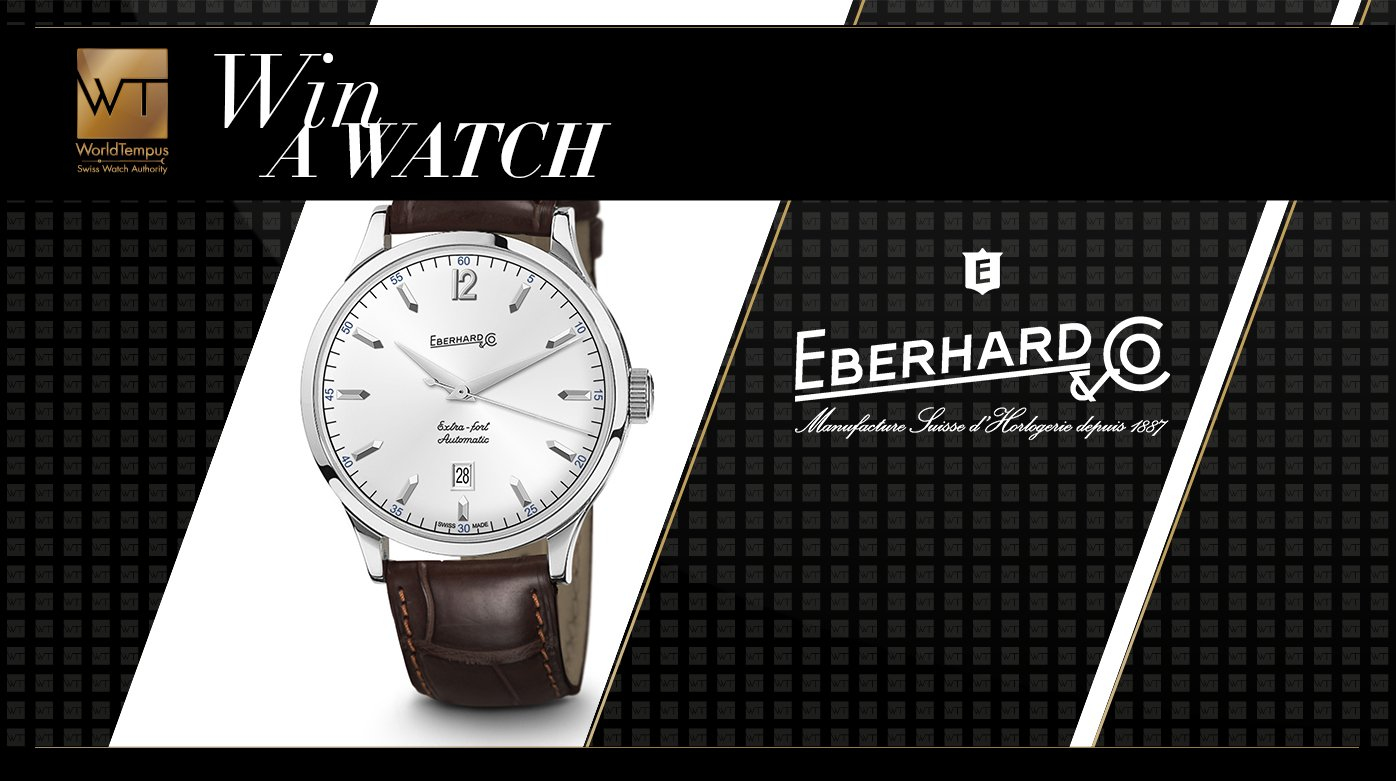 Eberhard & Co - Win an Eberhard & Co. Extra-Fort Automatic watch