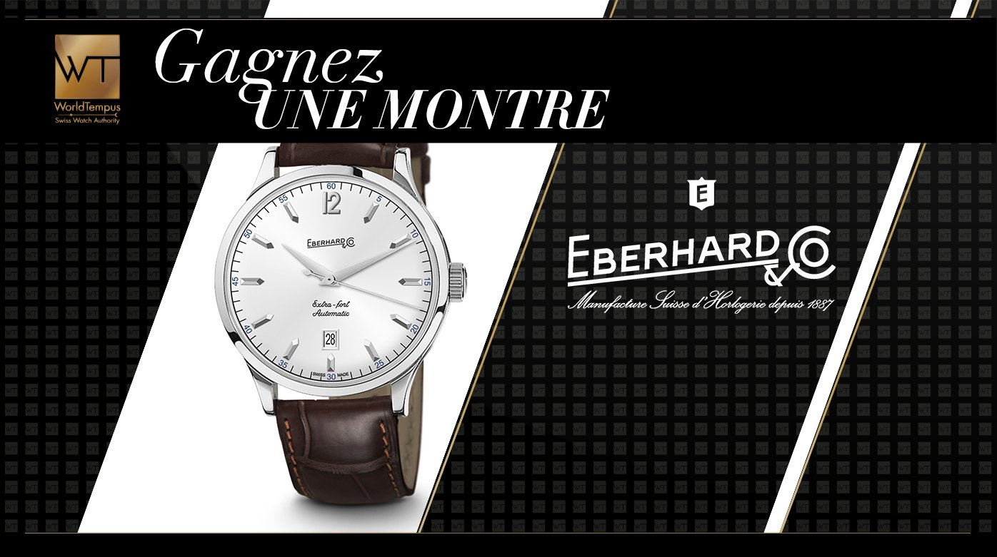 Eberhard & Co - Gagnez une montre Eberhard & Co. Extra-Fort Automatic