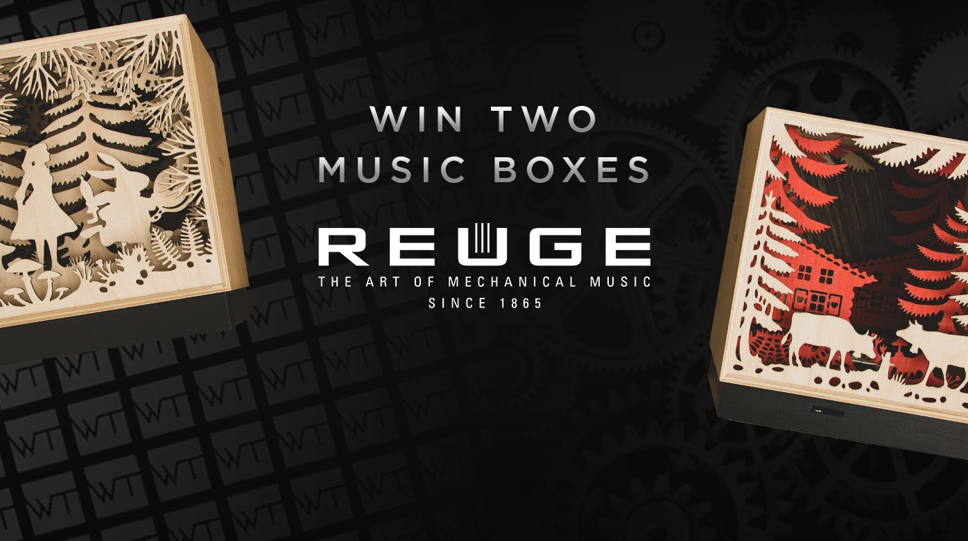 Reuge - Win Two Reuge Music Boxes