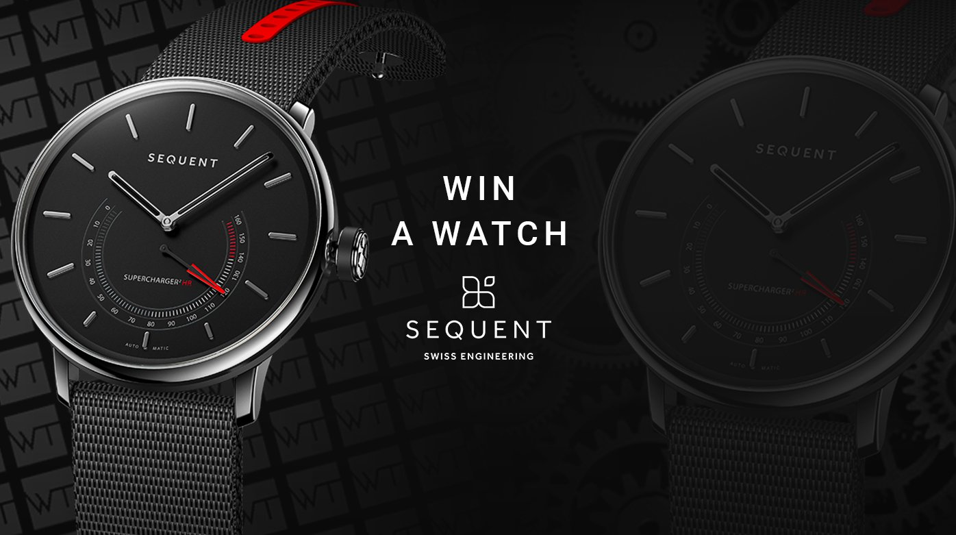 Sequent - Win a Sequent SuperCharger 2.1 Premium Watch