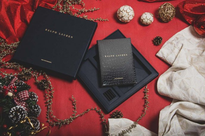 Win a Ralph Lauren leather notebook and pencil set