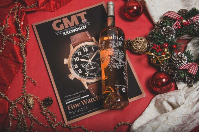 Win a bottle of Hybiscus rosé and a GMT XXL offered by WorldTempus