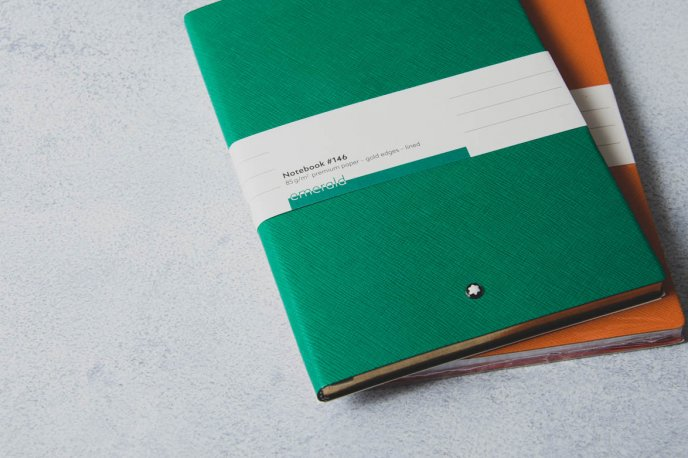 Win a notepad offered by Montblanc