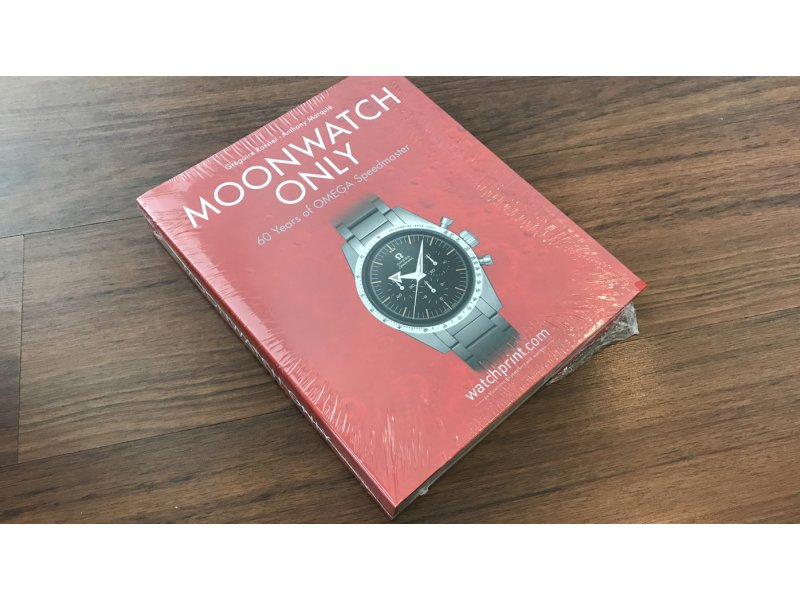 Moonwatch Only 60 Years Of Omega Speedmaster Black Apron