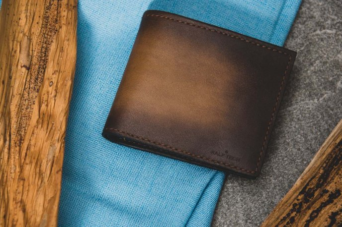 Win a leather wallet