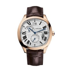 Drive de Cartier, second time zone, pink gold