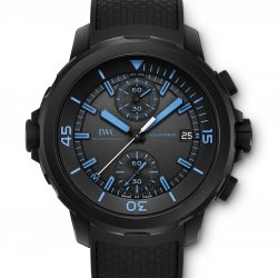 "Aquatimer IW379504 Chronograph Edition ""50 years science for Galapagos"" © IWC"