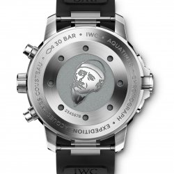 "Aquatimer IW376805 Chronograph Edition ""Expedition Jacques-Yves Cousteau"", dos  © IWC"