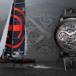 Armin Strom Sailing Team & la montre Skeleton Pure Earth © Armin Strom