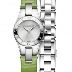 Linea Fresh Green, réf. 10229. © Baume & Mercier