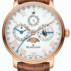 An example of a series-produced mechanical watch that follows a calendar other than the Gregorian version: the Villeret Traditional Chinese Calendar ©Blancpain