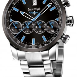 Chrono 4 Grande Taille Color blue   © Eberhard & Co