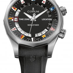 Corum Admiral's Cup Legend 47 Worldtimer Baselworld