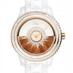 Dior VIII Grand Bal Plume, rose gold and white ceramic
