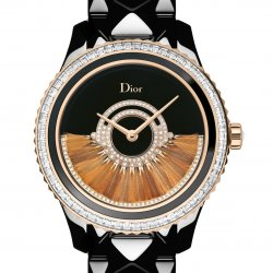 Dior VIII Grand Bal Plume, rose gold and black ceramic