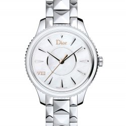 Dior VIII Montaigne, steel, mother-of-pearl, 32mm  © Dior