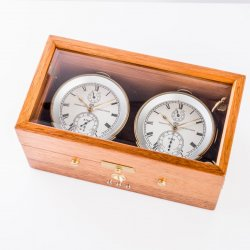 Double marine chronometer © Glashütte Original
