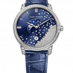 Harry Winston,  Midnight Diamond Drops