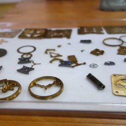 Movement components produced in-house at Hysek