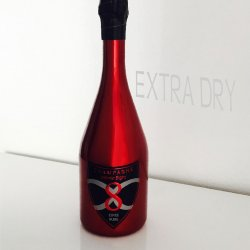 bottle of Infinite 8 champagne