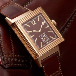 Jaeger-Lecoultre - Grande Reverso Ultra-Thin 1931  chocolate dial