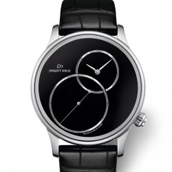 Jaquet Droz Grande Seconde Off-Centered Onyx  Baselworld