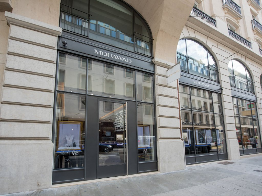 Mouawad new flagship store in geneva retail worldtempus for Jewelry stores in geneva switzerland