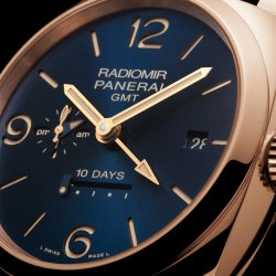 PAM 659 - Radiomir 1940 10 Days GMT Automatic Oro Rosso