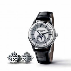 The annual calendar as seen by its official inventor in the ref. 5205G by Patek Philippe ©Patek Philippe