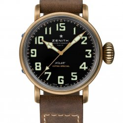 Zenith Pilot Type 20 Extra Special unique piece for WorldTempus © Zenith