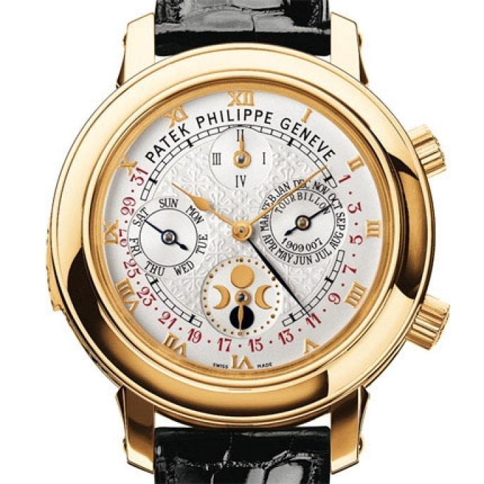 Patek philippe grand complications sky moon tourbillon worldtempus for Patek philippe tourbillon