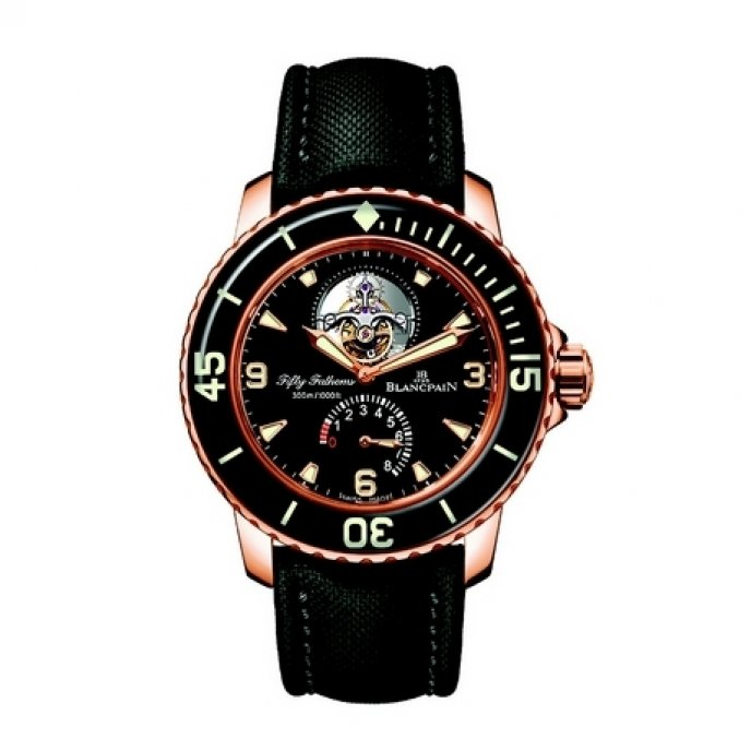 Blancpain - Fifty Fathoms Tourbillon