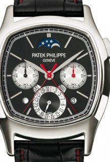 Split seconds monopusher chronograph and perpetual calendar