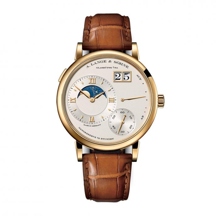 A. Lange & Söhne Grand Lange 1 Moon Phase 139.021 - watch face view