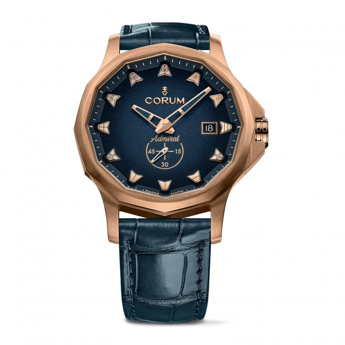 Admiral 42 Automatic Bronze Blue