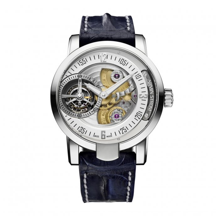 Armin Strom Tourbillon Gravity Water ST14-TW.M.50 - face view