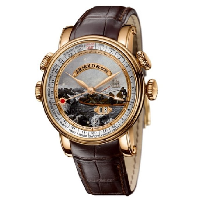 "Arnold & Son - HORNET James Cook ""Discovery of Antarctica"""