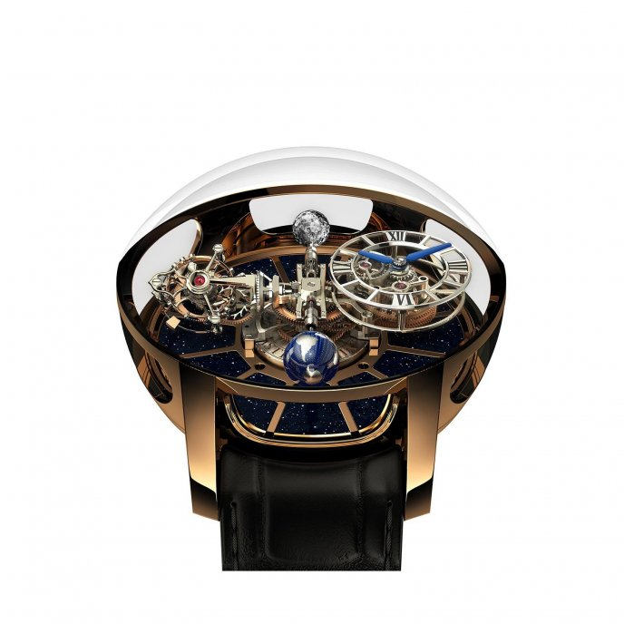 Jacob & Co Astonomia Tourbillon 750.100.94.AB.SD.1NS - watch face view