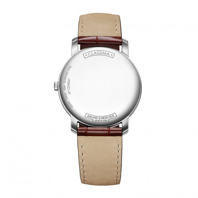 Baume and Mercier Classima 10144 Watch-back-view