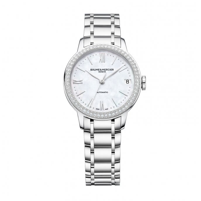 Classima 31mm Diamond-Set Bezel Mother-Of-Pearl Automatic