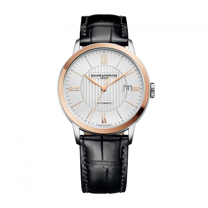 Baume & Mercier Classima Homme Automatique Bicolore 10216 Watch Front View