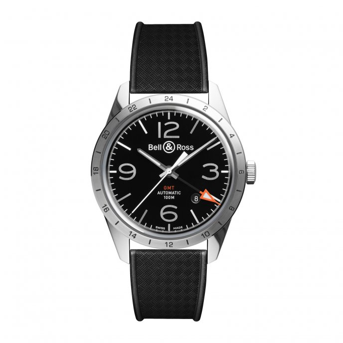 Bell & Ross BR 123 GMT 24H watch-face-view