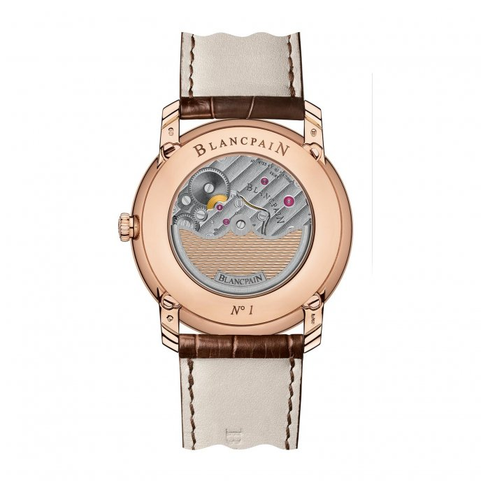 Blancpain Villeret Quantieme Perpetuel 8 Jours Or Rose Watch-back-view