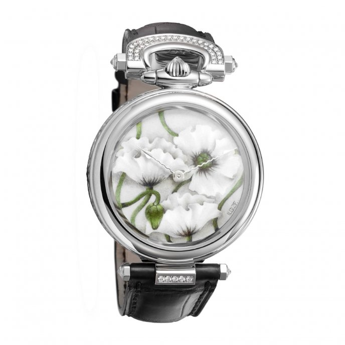 """Amadeo® Fleurier 39 """"Poppies"""""""