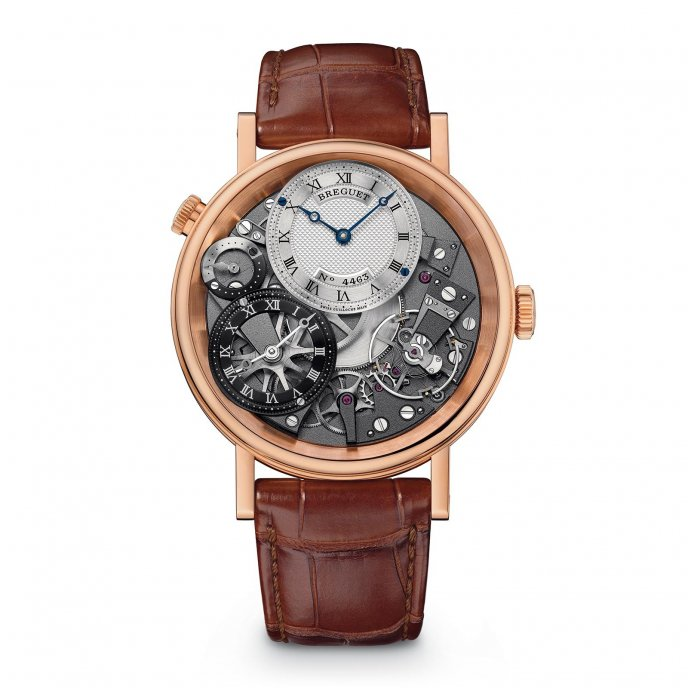 Breguet - Tradition GMT - 7067BRG19W6 - watch face view